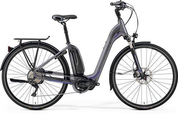 MERIDA ESPRESSO CITY XT-EDITION MATT-DARK SILVER (GLOSSY SILVER/BLUE)