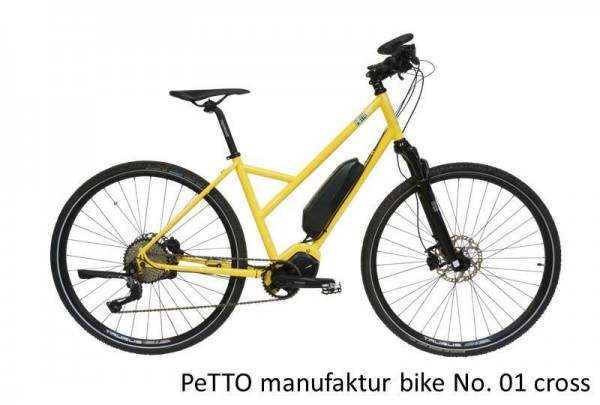 PeTTO manufaktur bike No. 01 cross