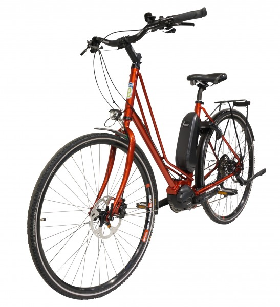 PeTTO manufaktur bike No. 04 Tiefeinsteiger rot